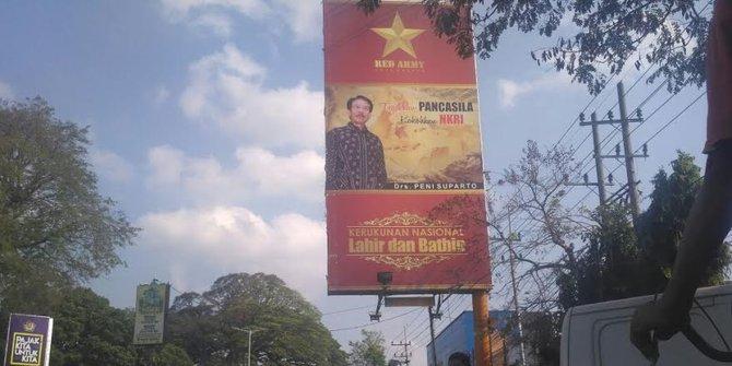 (DISINFORMASI): Baliho Red Army di Kota Malang Adalah ...