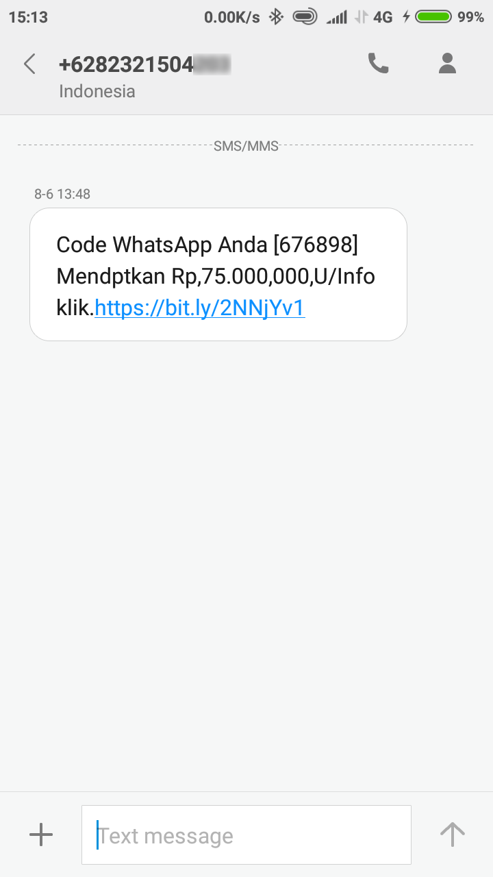 Salah Program Gebyar Undian Pt Whatsapp Indonesia 2018