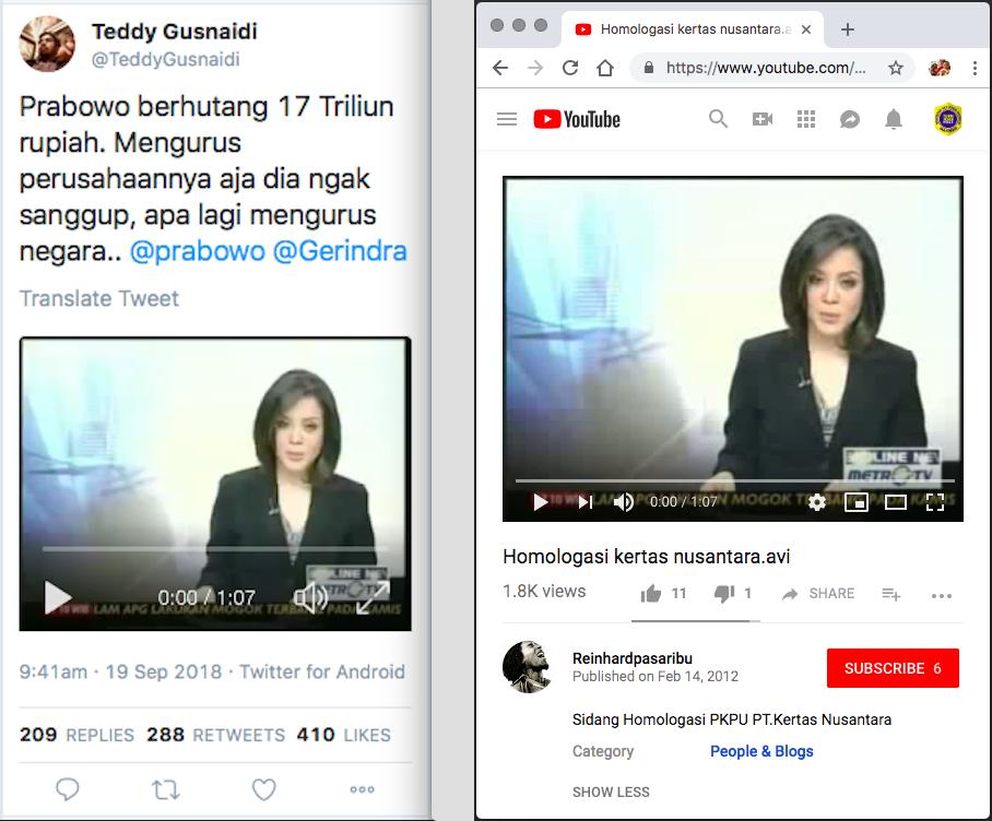 "Ngabalin Stroke: [SALAH] ""Prabowo Berhutang 17 Triliun Rupiah"""