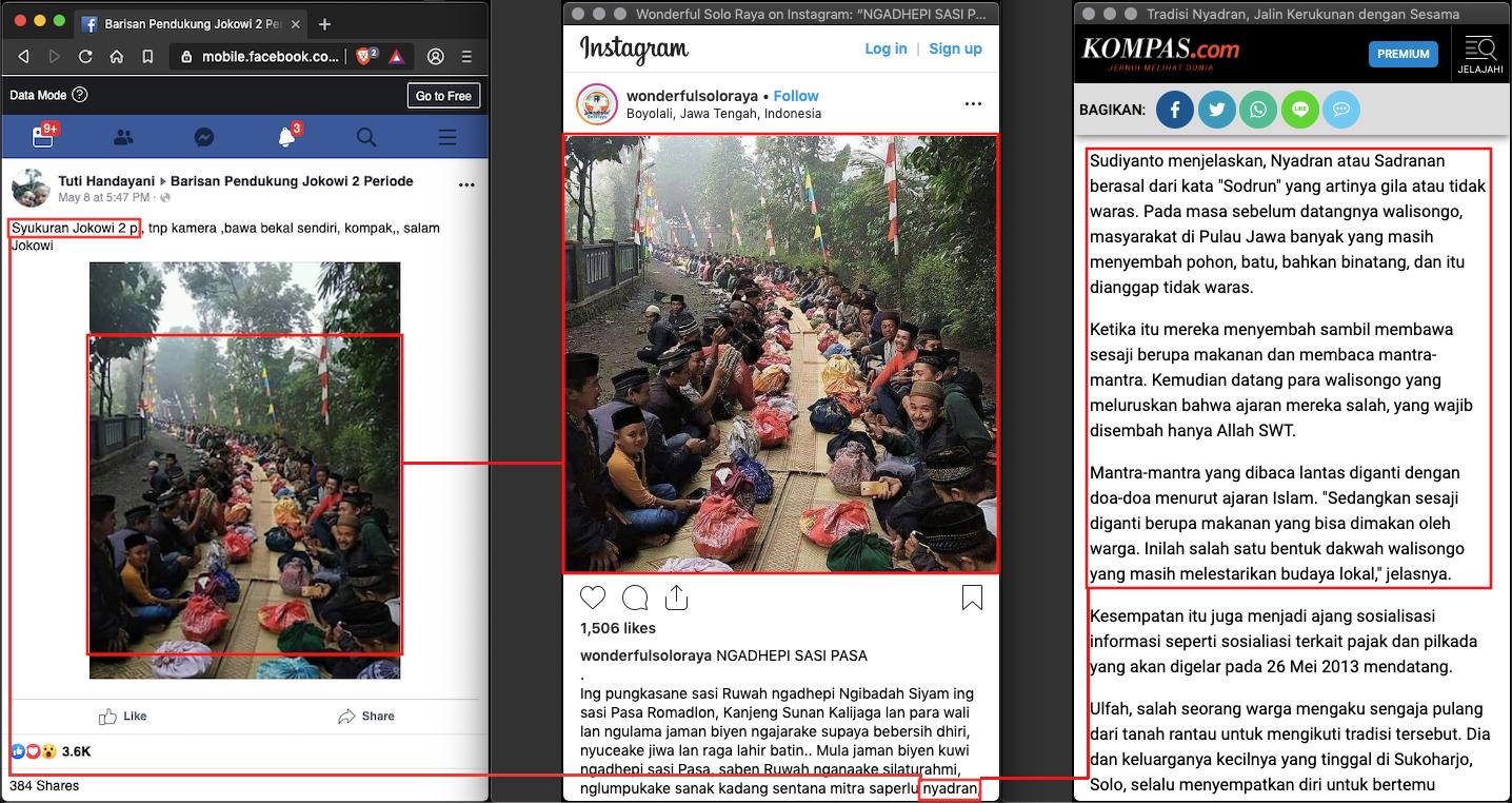 "[SALAH] ""Syukuran Jokowi 2 p"" - TurnBackHoax"