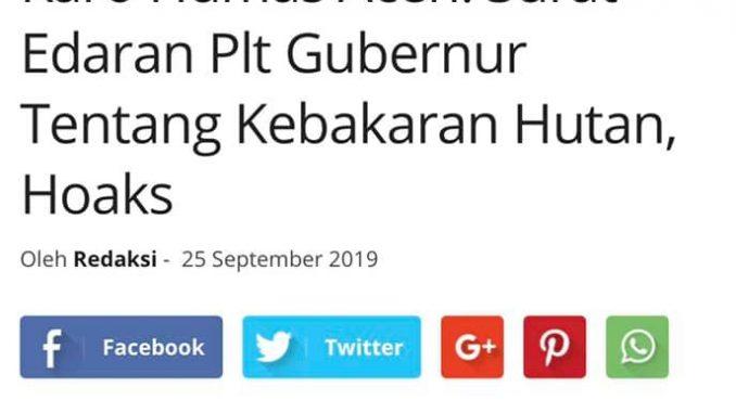 Klarifikasi Muncul Himbauan Libur Pertanggal 23 September
