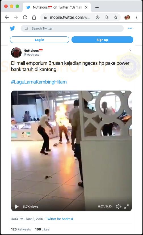 FALSE] Mobile Phone Burning while Charging using Powerbank