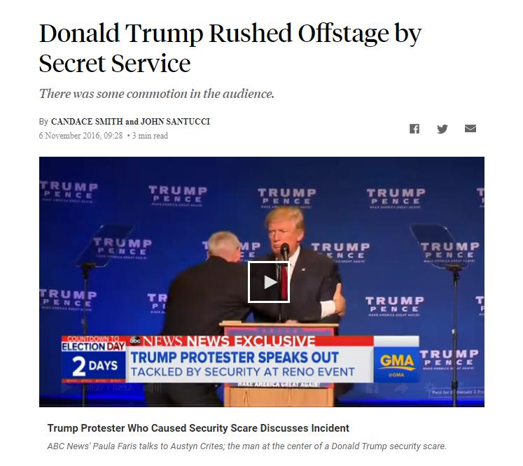 """[SALAH] Video """"Donald trump tiba2 tak sadarkan diri saat berpidato, dengernya dia udh trkena corona"""""""