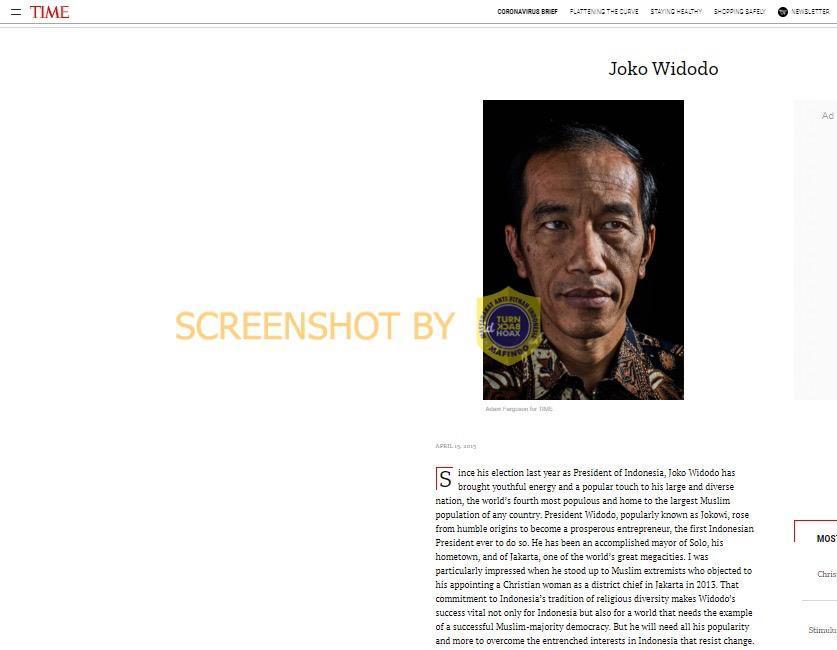 Pak Jokowi Menyuruh Orang Tidak Shalat Jumat Benarkah?