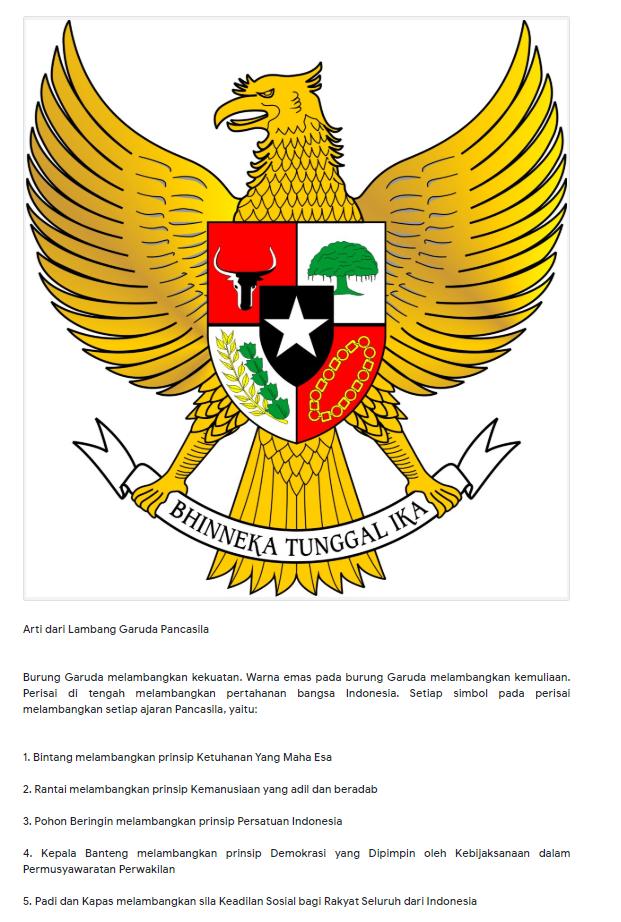 Salah Logo Di Sembako Bantuan Presiden Logo Garuda Di Ganti Dengan Bintang Turnbackhoax