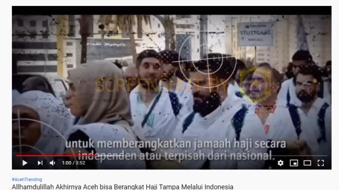 [SALAH] Alhamdulillah Akhirnya Aceh Bisa Berangkat Haji Tanpa Melalui Indonesia