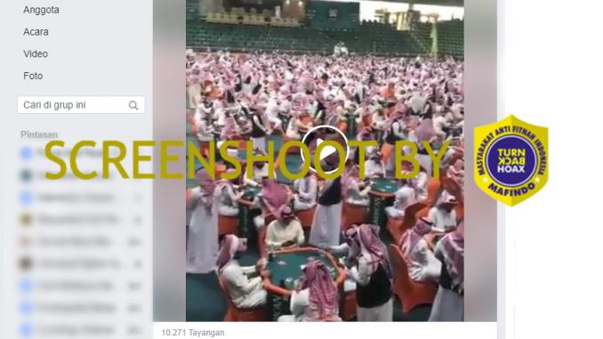 [HOAKS atau FAKTA]: Arab Saudi Bangun Pusat Judi Terbesar