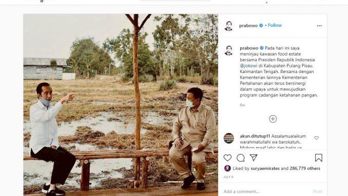 [HOAKS atau FAKTA]: Jokowi Bersama Prabowo Bahas Rakyat Tenggelam