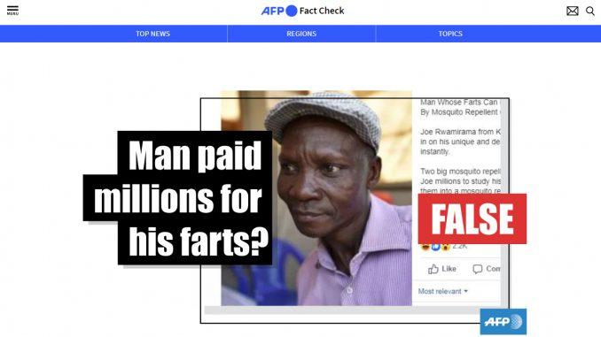 [HOAKSatau FAKTA]: Kentutnya Mematikan, Pria Uganda ini
