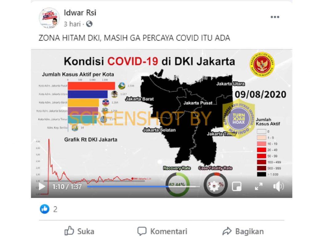 Salah Bin Tetapkan Jakarta Zona Hitam Hoax Buster Satgas Penanganan Covid 19