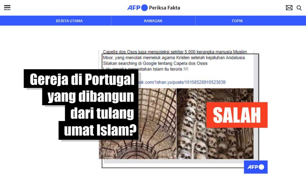 [SALAH] Gereja yang Dibangun Dari Tulang-Tulang Umat Islam